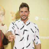 David Bisbal en el estreno de 'Tadeo Jones 2'