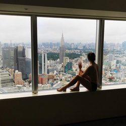 Cristina Pedroche posando desnuda desde su hotel de Tokio