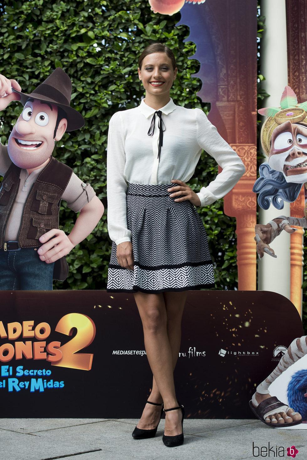 Michelle Jenner es actriz de doblaje de 'Tadeo Jones 2'
