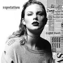Portada de 'Reputation' nuevo álbum de Taylor Swift