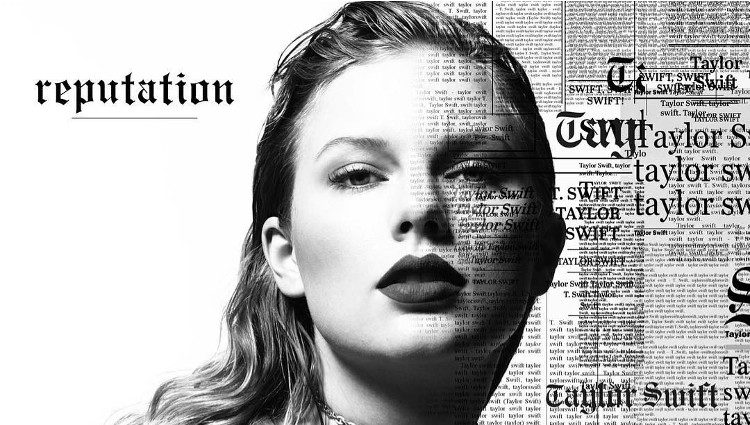 Portada de 'Reputation' nuevo álbum de Taylor Swift