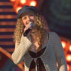 Tessa Bodi durante una actuación