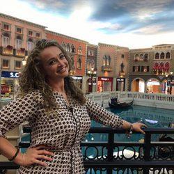 Tessa Bodi en el hotel The Venetian en Macao