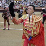 El paseíllo de José Ortega Cano antes de su última corrida de toros
