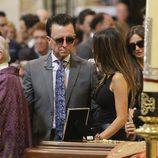 José Ortega Cano en el funeral de Dámaso González