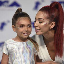 Farrah Abraham y su hija Sophia en los MTV VMA 2017