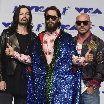 Jared Leto y su banda Thirty Seconds to Mars en los MTV VMA 2017