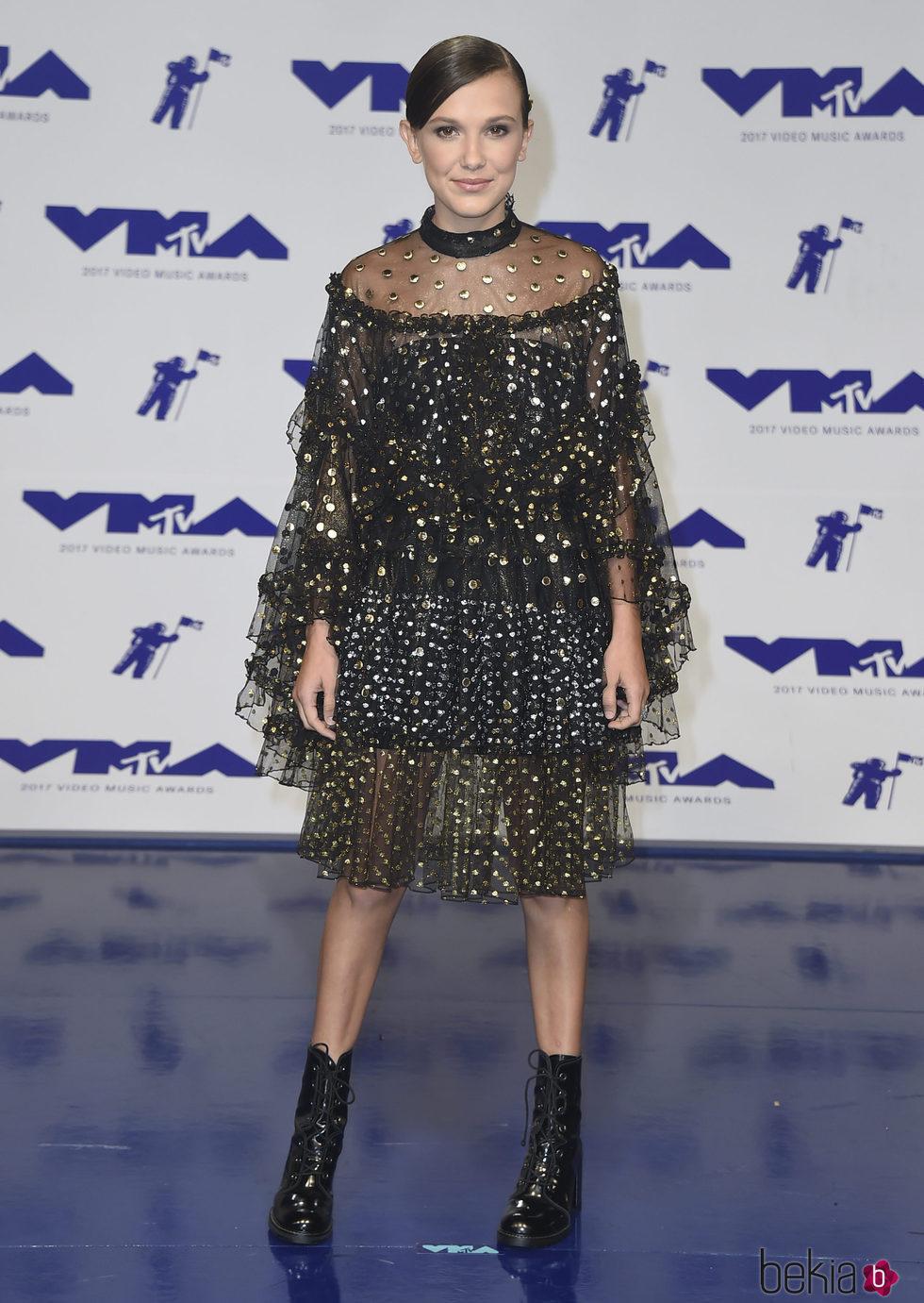 Millie Bobby Brown en los MTV VMA 2017