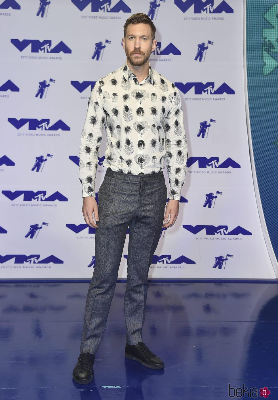 Calvin Harris en los MTV VMA 2017