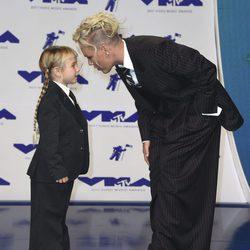 Pink con su hija Willow en los MTV VMA 2017