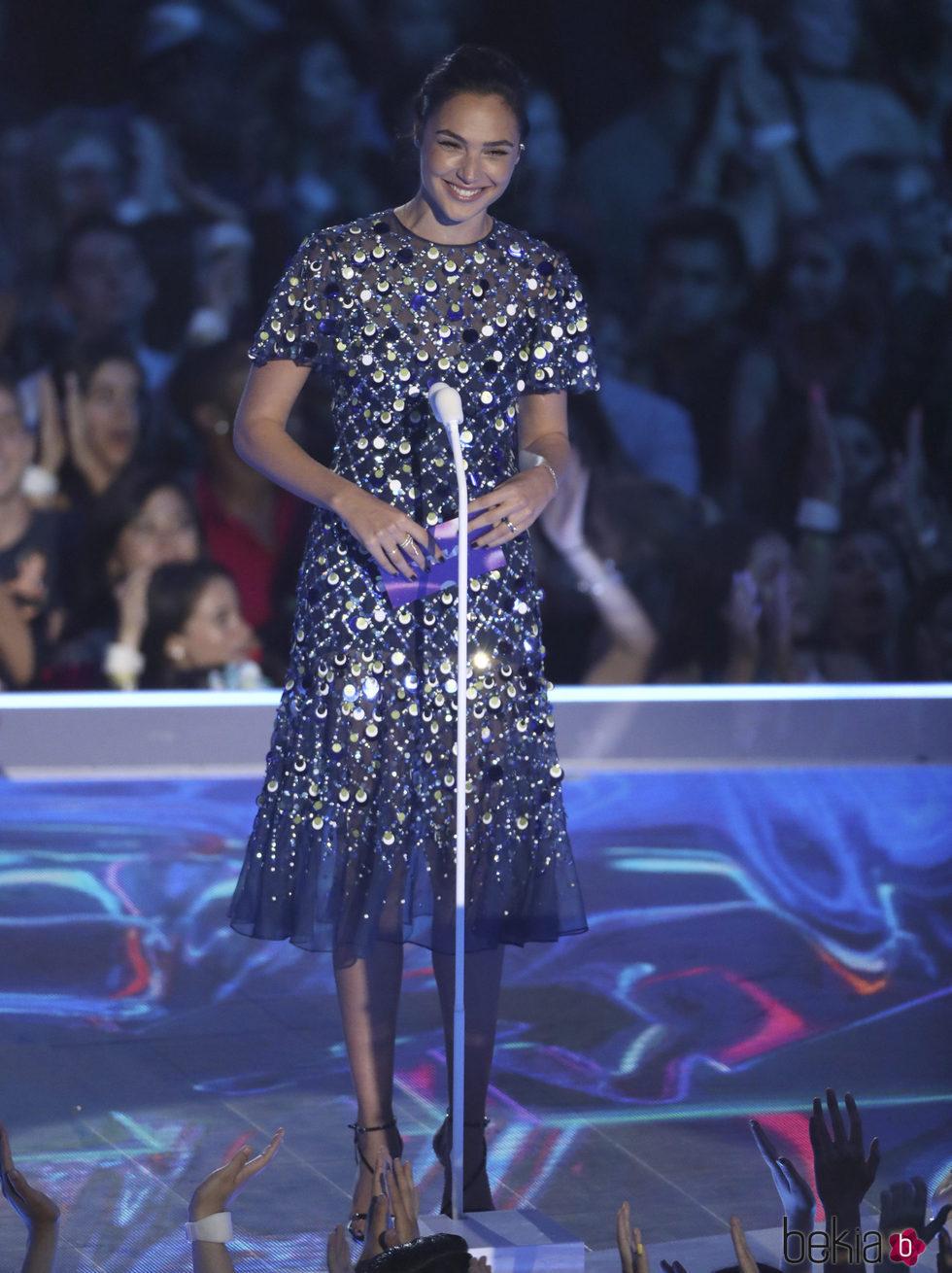 Gal Gadot en la gala de los MTV VMA 2017
