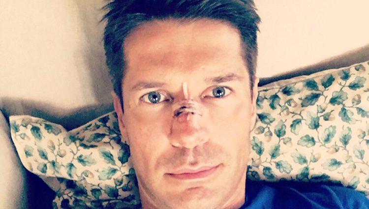 Jaime Cantizano, herido tras sufrir un accidente en la piscina