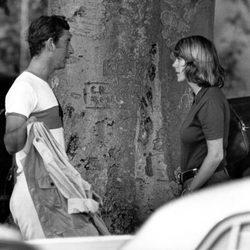 El Príncipe Carlos y Camilla Parker Bowles cuando eran jóvenes