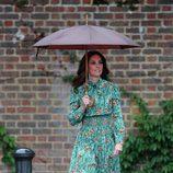 Kate Middleton en el homenaje a Lady Di en Kensington Palace en el 20 aniversario de su muerte