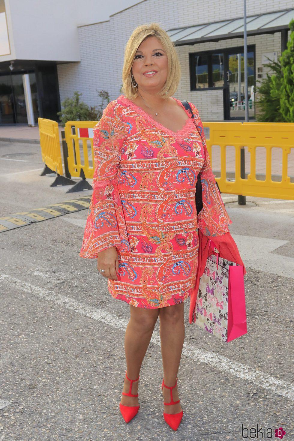 Terelu Campos, durante su 52 cumpleaños
