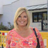 Terelu Campos, muy sonriente el día de su cumpleaños