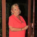 Carmen Borrego en el cumpleaños de su hermana Terelu Campos