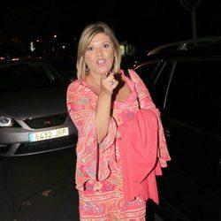 Terelu Campos, divertida durante su cumpleaños
