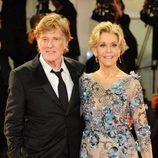 Robert Redford y Jane Fonda en el Festival de Venecia 2017