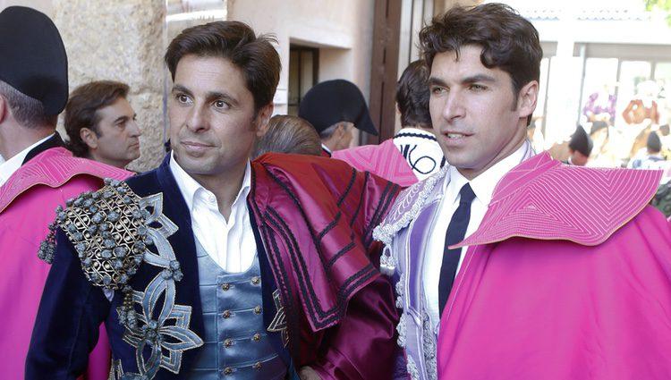 Fran Rivera y Cayteano Rivera en la 61 corrida Goyesca de Ronda