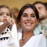 Lourdes Montes y su hija Carmen en la 61 edición de la corrida Goyesca de Ronda