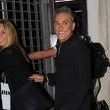Belén Rodríguez y Kiko Hernández en la celebración del 52 cumpleaños de Terelu Campos