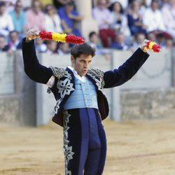 Fran Rivera con banderillas en la 61 edición de la corrida Goyesca de Ronda