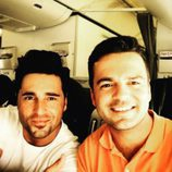 David Bustamante junto a su hermano mayor, Igor