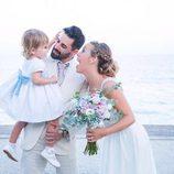 Yoli y Jonathan ('Gh15') disfrutan de su boda junto a su hija Valeria
