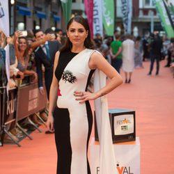 Andrea Duro en el estreno de 'Velvet Colección' en el FesTVal 2017