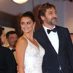 Javier Bardem y Penélope Cruz en el Festival de Venecia 2017