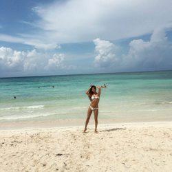 Lucía Rivera luce cuerpazo en las playas mexicanas