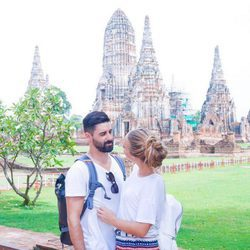 Yoli y Jonathan ('GH15') en Bangkok