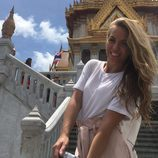 Yoli Claramonte ('GH15') disfrutando de su luna de miel en Bangkok