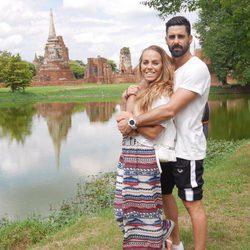 Yoli y Jonathan ('GH15') muy acaramelados en Bangkok de luna de miel