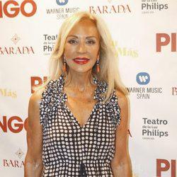 Carmen Lomana en la presentación de Pitingo 'Sol, bulería y más'