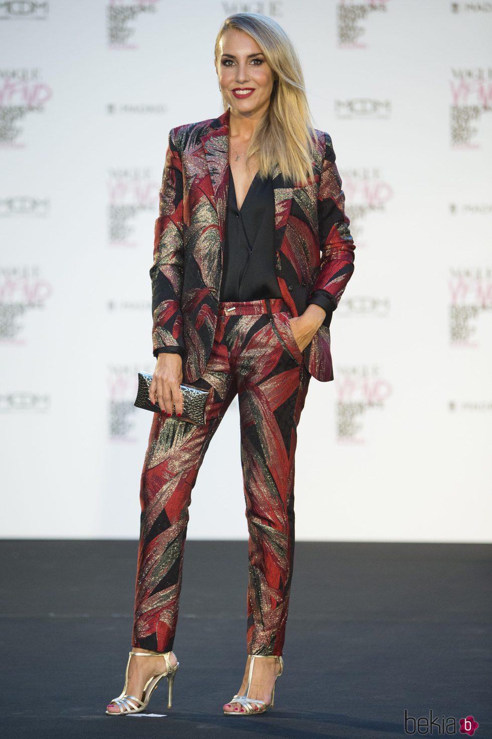 Berta Collado en la Fashion's Night Out 2017