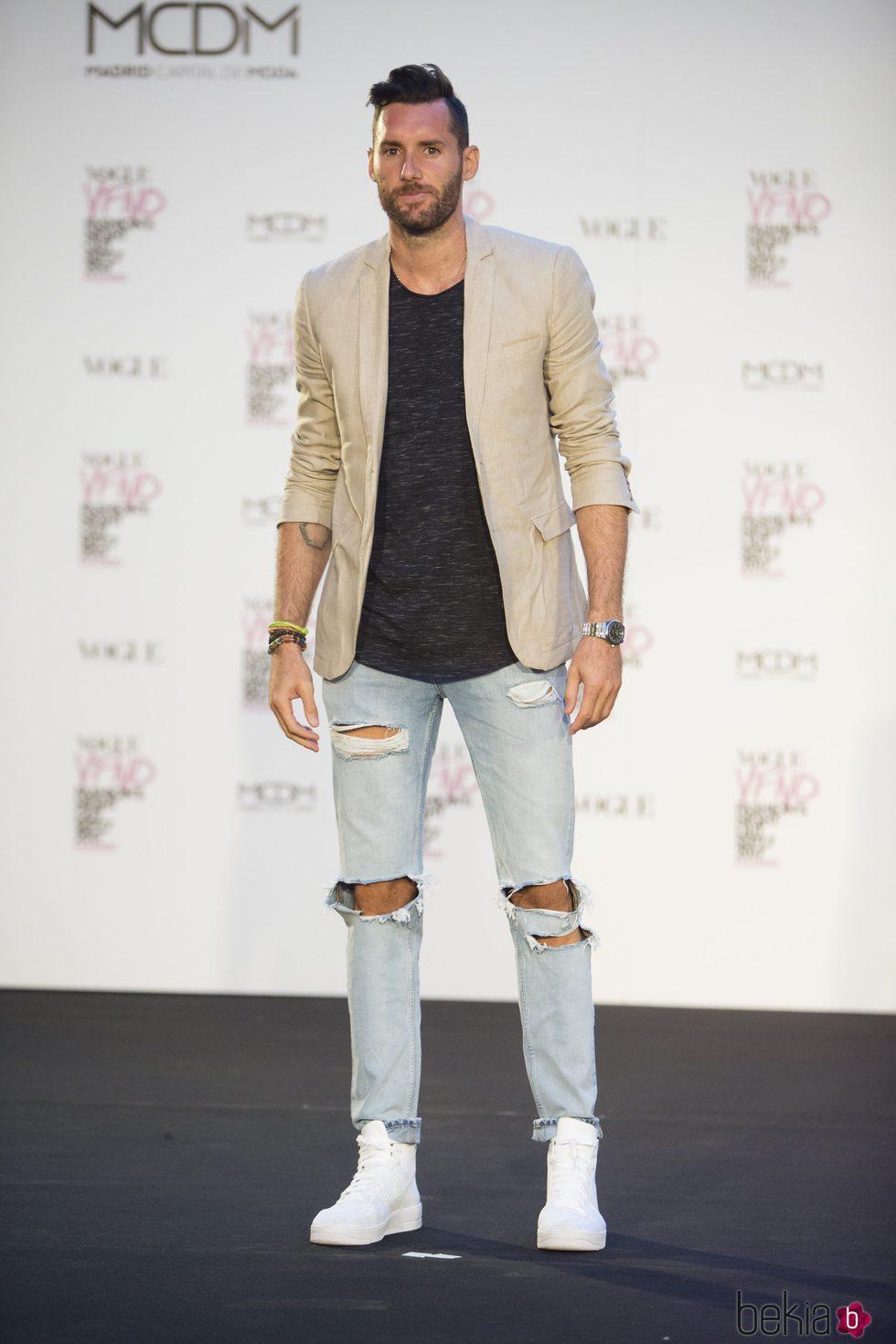 Rudy Fernández en la Fashion's Night Out 2017