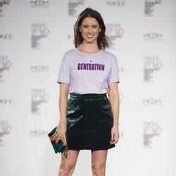 Manuela Vellés en la Fashion's Night Out 2017