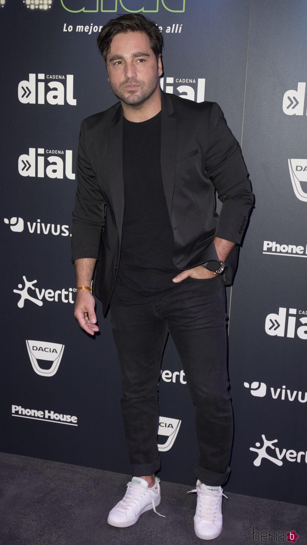 David Bustamante en la rueda de Prensa 'Vive Dial'