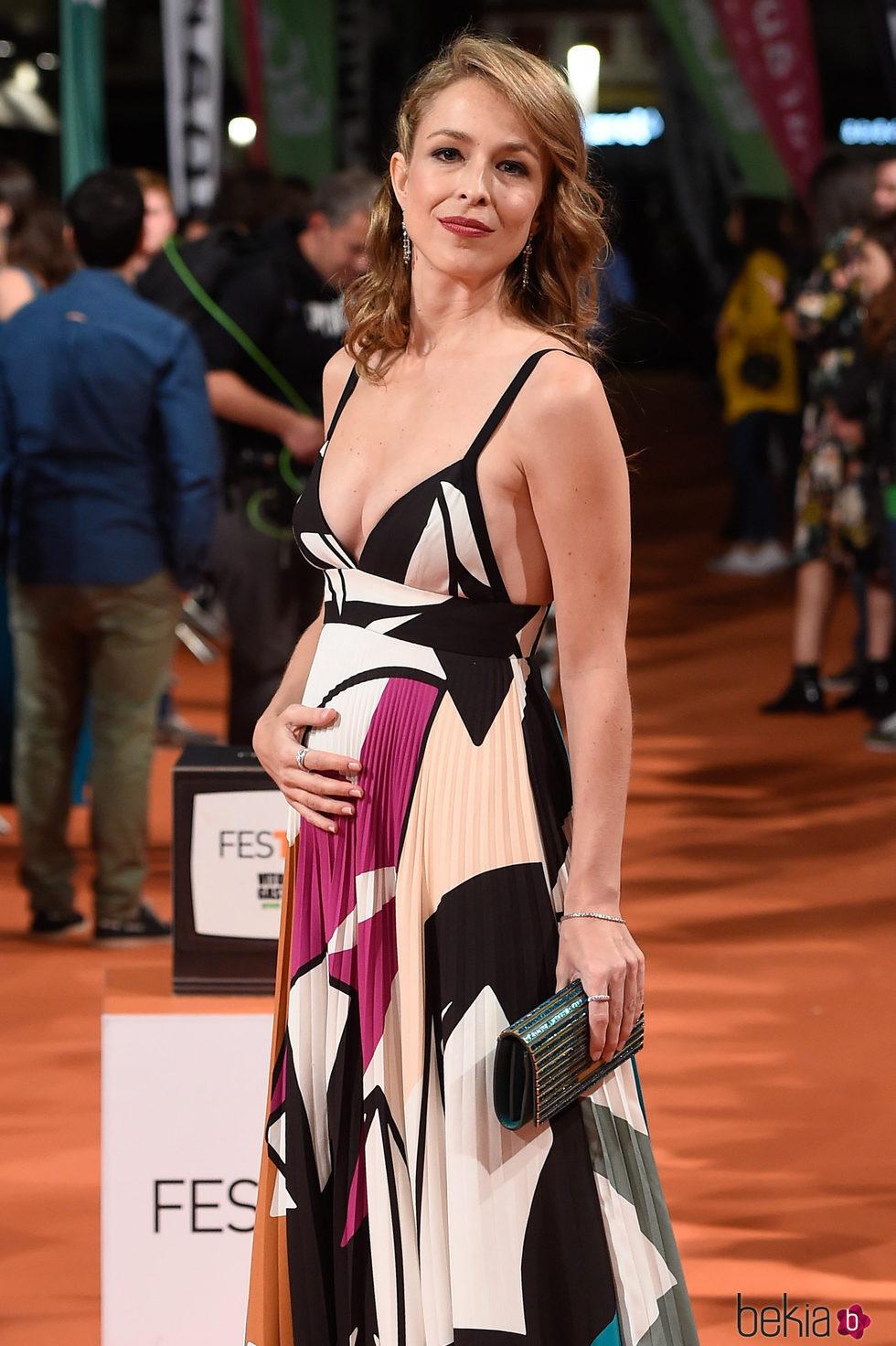 Silvia Abascal anuncia embarazo en el FesTVal de Vitoria 2017