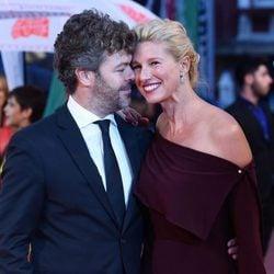 Anne Igartiburu y Pablo Heras-Casado, muy enamorados en la gala de clausura del FesTVal de Vitoria 2017