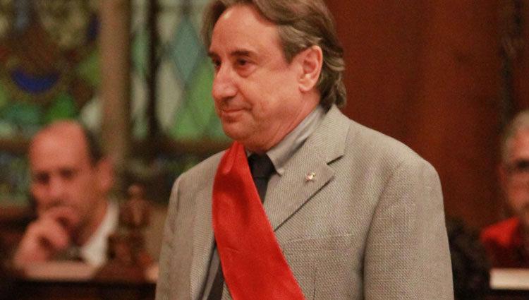 Juanjo Puigcorbé durante la sesión de investidura del alcalde de Barcelona