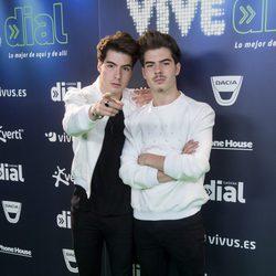 Los Gemeliers en el concierto Vive Dial 2017