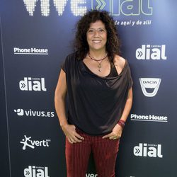 Rosana en el concierto Vive Dial 2017