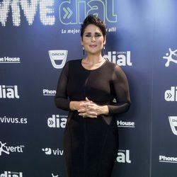 Rosa López en el concierto Vive Dial 2017