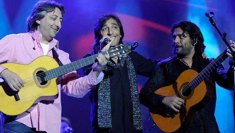 El grupo Ketama en el homenaje 'Viva Antonio'