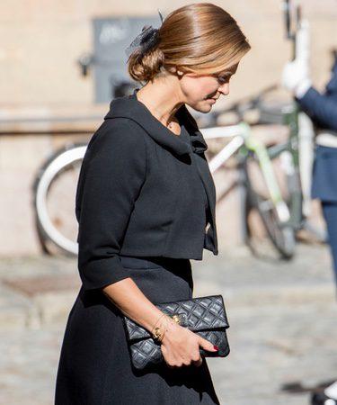 Magdalena de Suecia presume de embarazo en la apertura del Parlamento 2017