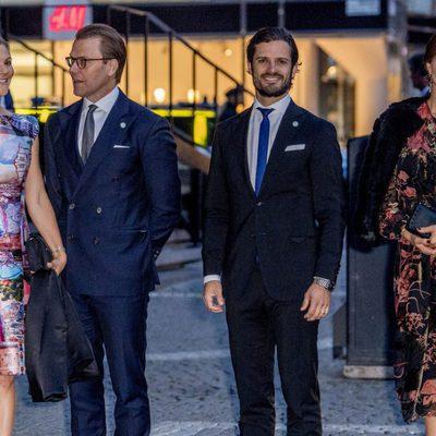 Victoria, Daniel, Carlos Felipe y Magdalena de Suecia en el concierto por la apertura del Parlamento 2017