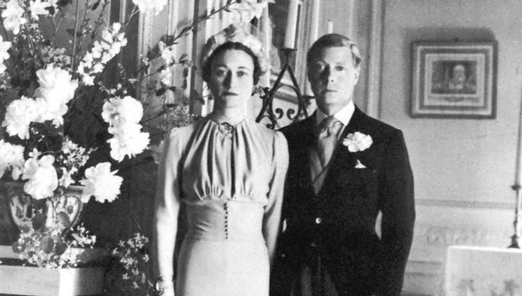 Los Duques de Windsor en su boda